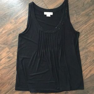 Micheal Kors Black Tank Top